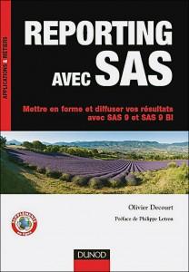 couverture Reporting avec SAS, éd Dunod