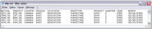 Export de SAS vers Excel 1