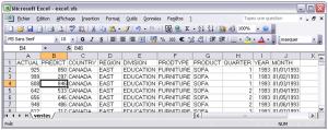 Export de SAS vers Excel 2