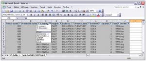 Export de SAS vers Excel 9