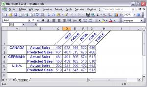 Export de SAS vers Excel 5