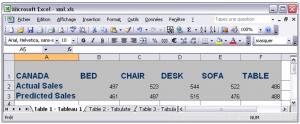 Export de SAS vers Excel 7